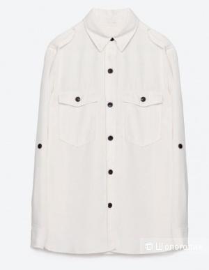 Продам стильную рубашку Zara woman Premium Denim Collection отличного качества.