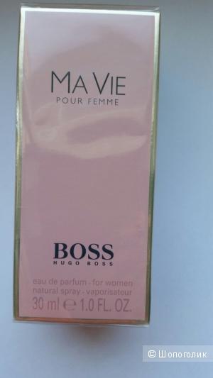 Парфюмерная вода BOSS MA VIE Pour Femme  , спрей 30 мл