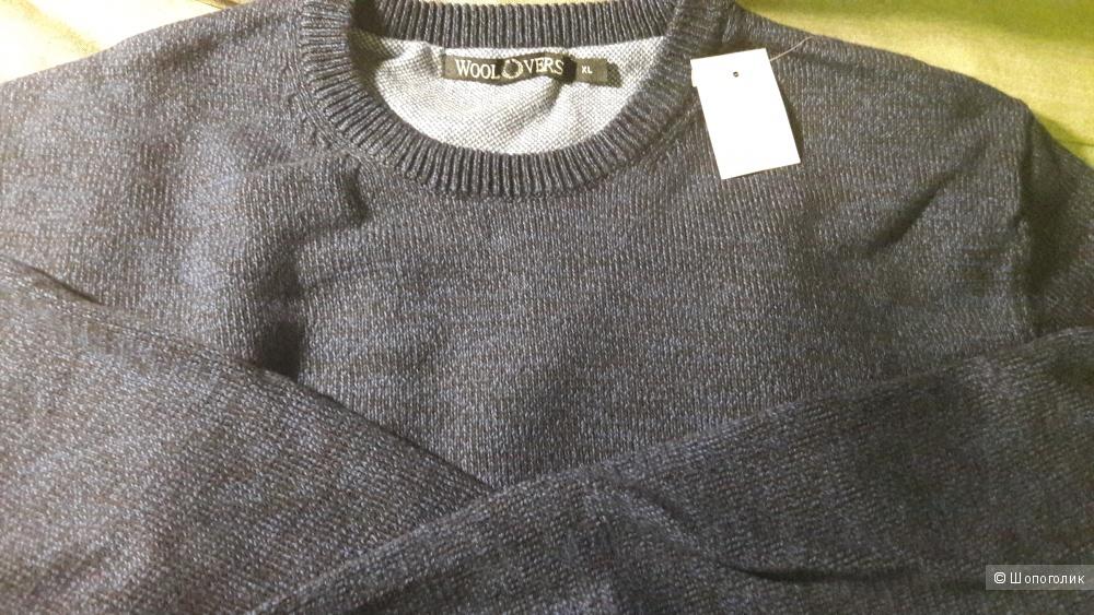Mens Cotton Jumper 52-54 р новый Англия Джемпер 100% хлопок на рост 180 см