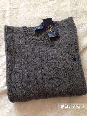 Серый свитер Ральф Лоурен .Ralph Laurrn