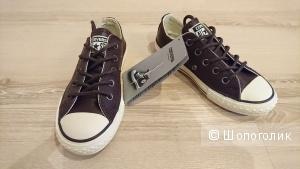 Коричневые кеды Converse, 28 EUR, кожа