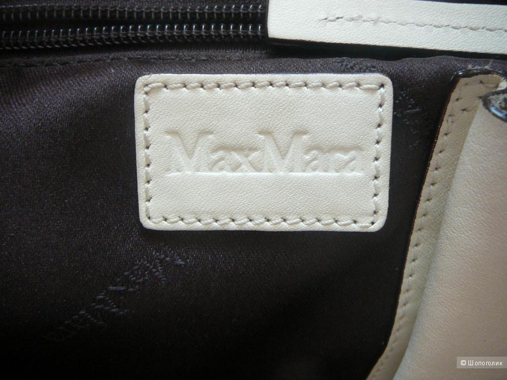 Кожаная сумка Max Mara
