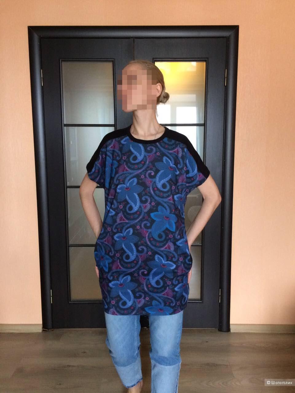 Красивейшее  платье-туника ZARA,новое