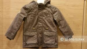 Новая куртка парка на 105-110 см