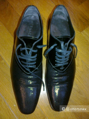 Туфли Versace размер 42,5 мужские