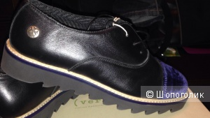 Новые кожаные оксфорды Verba, Италия