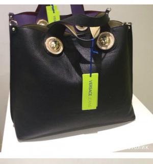 Новая  сумка  Versace Jeance , черная