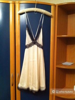 Платье-комбинация Ark&co, цвет слоновой кости, размер M