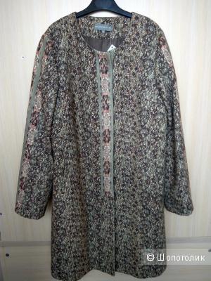 Хлопковое пальто PERFETTA новое размер S ( на росс.44-46)