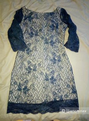 Платье коктейльное,  44 размер.