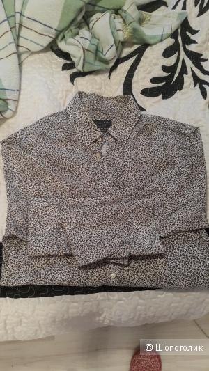 Рубашка мужская ,Zara, L размер