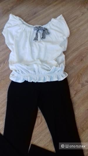 Блузка летняя PENNYBLAC, Италия, оригинал, размер 42-46