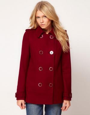 Новое пальто бушлат Asos