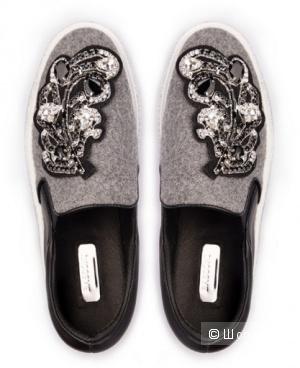 Дизайнерские полуботинки Basconi - замечательный вариант обуви для теплых весенних дней. Р. 38 (24,5)