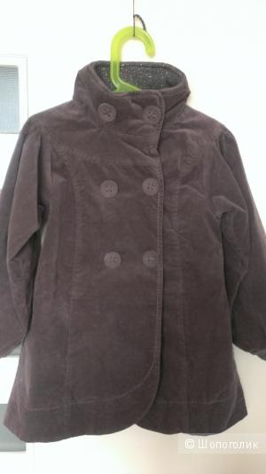 Детское бархатное пальто Pomp de lux