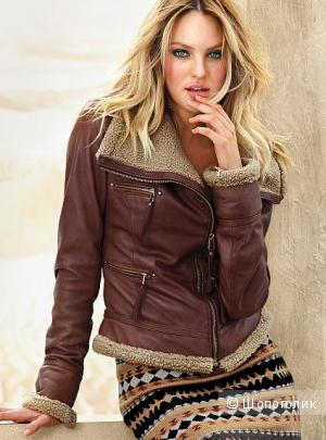 Новая кожаная куртка Victoria`s Secret, размер S.