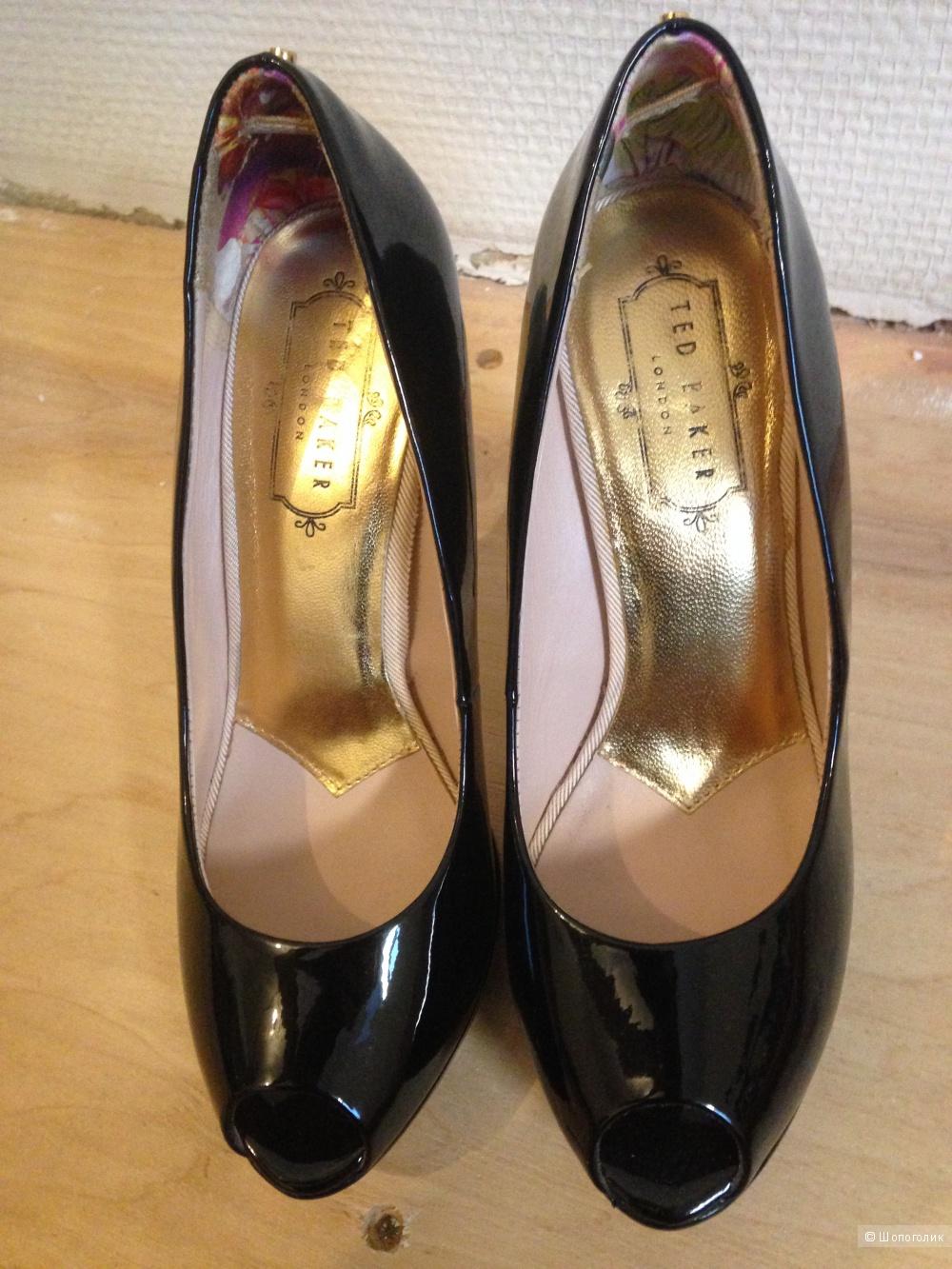 Туфли Ted Baker лакированные, 37 размер, новые
