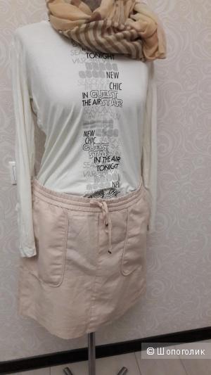 ESPRIT:хлопковая юбка на шнурке в размере 42 евро