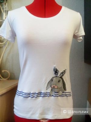 Женская футболка из вискозы, 44-46 размер
