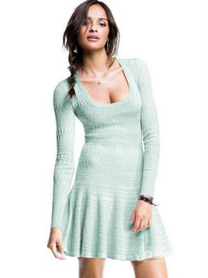 Мятное вязаное платье Victoria`s Secret, размер ХS.