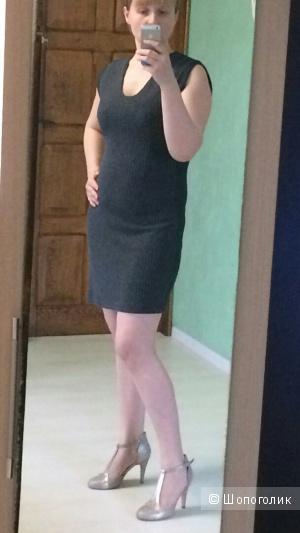 Трикотажное платье Манго 46-48разм.