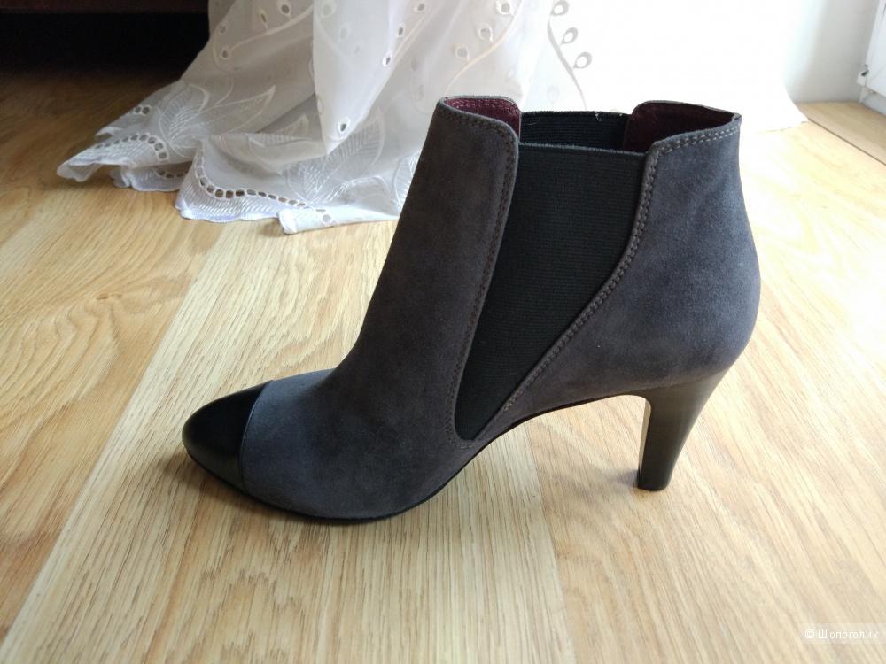 Демисезонные ботинки из натуральной кожи Just Couture SRL, р.36