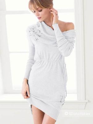 Кашемировое платье со стразами Victoria Secret Kiss Of Cashmere  XS