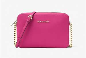 Сумка Michael Kors Jet Set Large Saffiano Leather Crossbody, новая