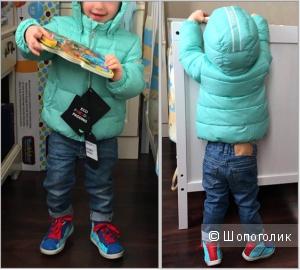 Новая куртка-пуховик Moon Boot на 12-18 мес