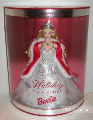 Новая коллекционная барби Holiday Celebration 2001 года