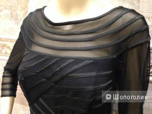 Tadashi Shoji красивое платье черного цвета р.44 Новое.Оригинал