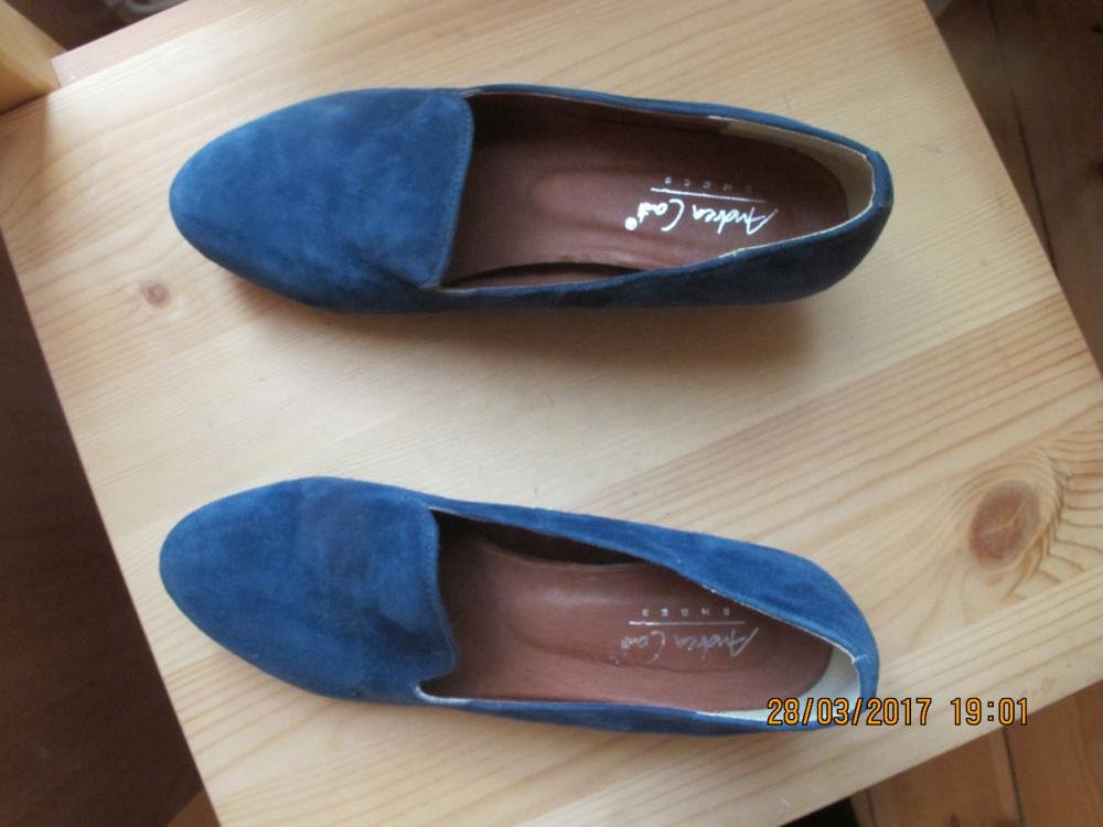 Замшевые туфли andrea conti 36 размер