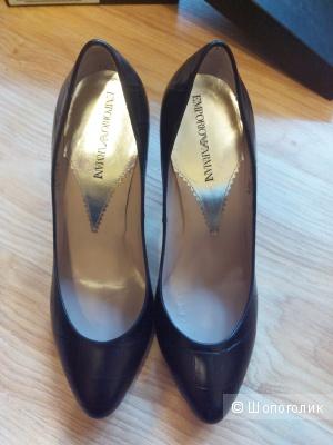 Кожаные туфли Emporio Armani, р. 38 М