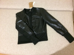 Куртка-кардиган черного цвета, S