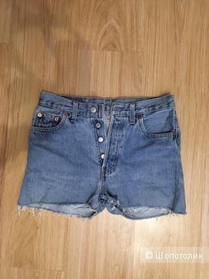 Новые шорты Levi's 501 размер 29, но идет на 27