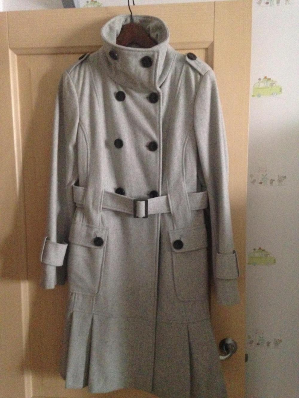b313cec3bc71 Пальто Calvin Klein женское шерстяное, размер 42-44, в магазине Gilt ...