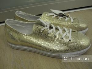 Кеды золотистые Converse Chuck Taylor, 41EU, 26,5см