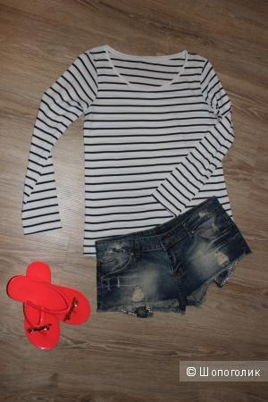 Джинсовые шорты, размер 44