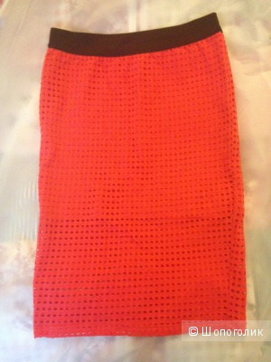 Красная юобка Zara размер S