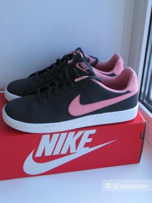 Кожаные кеды Nike новые р 37