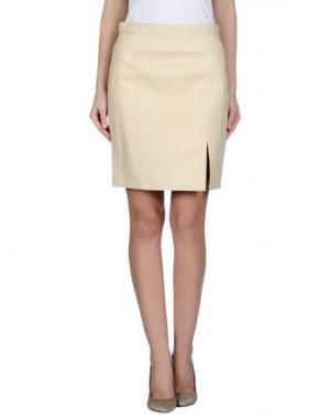 Кожаная итальянская юбка