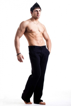 Мужские брюки 100% лен Urban Knights