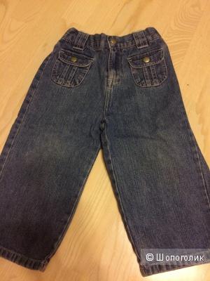 Настоящие джинсы-варенки Leeds на мальчика  92 cm