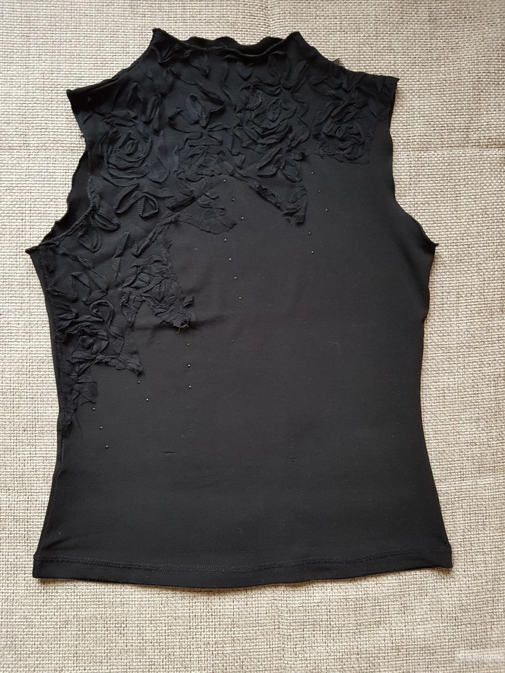 Черный топ Oggi, размер S