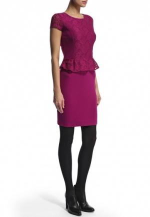 Платье Savage ягодного цвета , 46, 48 размер