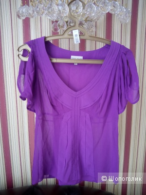 Блузка из натурального шелка Karen Millen, размер 10 uk