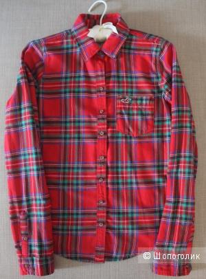 Фланелевая рубашка hollisterco