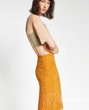 Новая кружевная юбка Зара