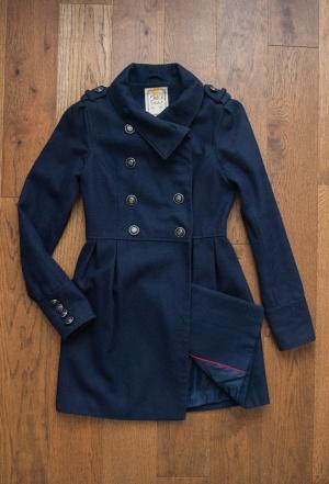 Пальто в морском стиле Pull&Bear р. S
