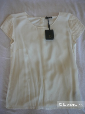 Блузка из шелка Massimo Dutti